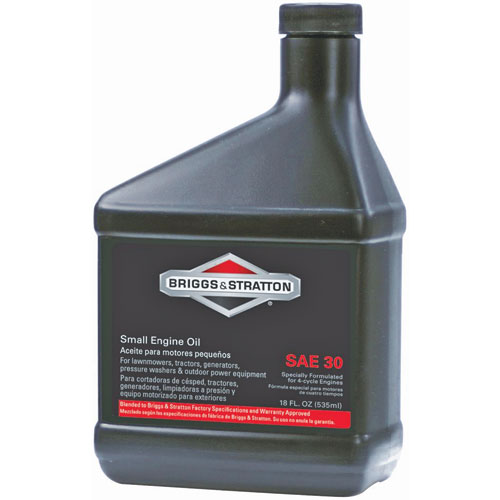 Briggs Stratton 18 Oz 4 Cycle 30w Conventional Engine Oil