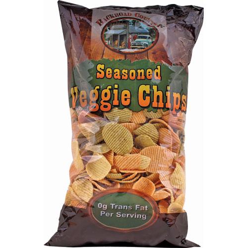 16 Oz Bag Seasoned Veggie Chips