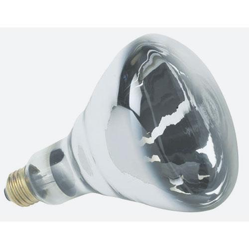250 Watt White Infrared Heat Lamp Bulb