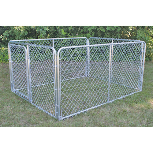 6 X 8 X 4 Stephens Pipe Amp Steel Dog Kennel