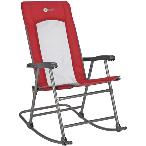 Folding Mesh Rocking Chair