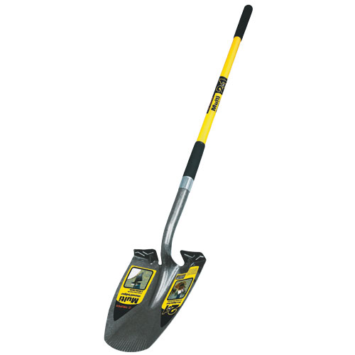 This Digging Shovel Has A Specially Designed Blade That Also Edges Flower  Beds Like A Garden Spade. 15 Gauge, Heavy Duty Blade With Extended Step For  Added ...