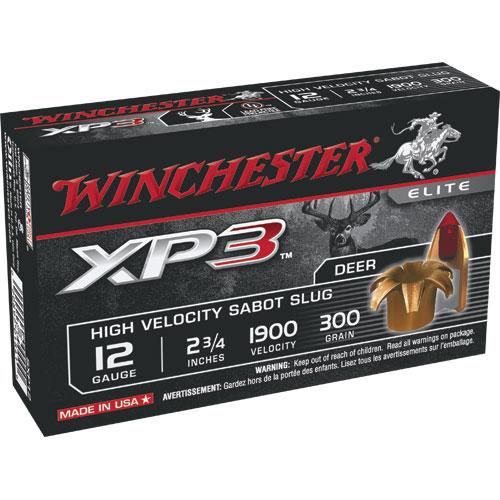 5 Ct Winchester 12 Gauge Xp3 Shotgun Ammo