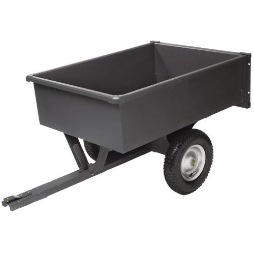 10 Cu  Ft  Steel Dump Cart